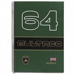 CUADERNO ESPIRAL A4 BULTACO...
